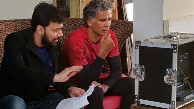 Entertainment News Digpu - Vivek Kunwar creates an uplifting ad-campaign featuring Milind Soman , Motif Global, Lifelong Online