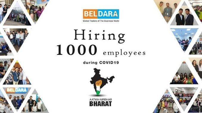 Beldara is hiring 1000 employees in the midst of Corona