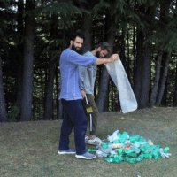 Pulwama youth expresses love for hills through cleanliness drives
