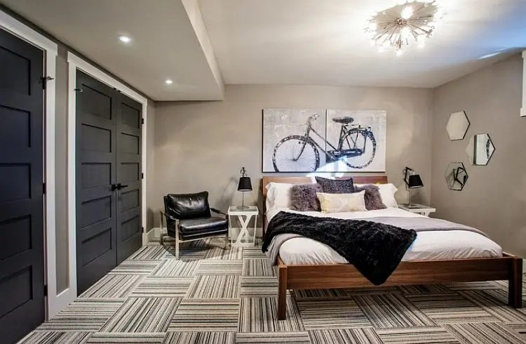 How To Decorate A Basement Bedroom: 5 Ideas And 21 ... on Bedroom Ideas For Men Small Room  id=52712