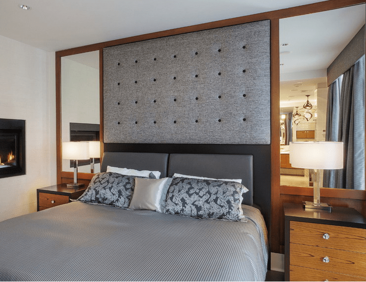 to decorate your bedroom with mirrors