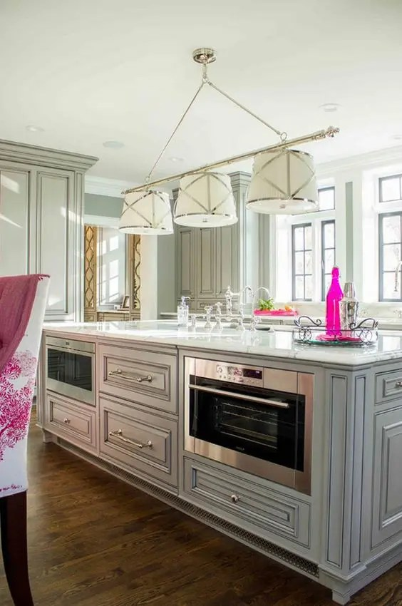 39 smart kitchen islands with built in