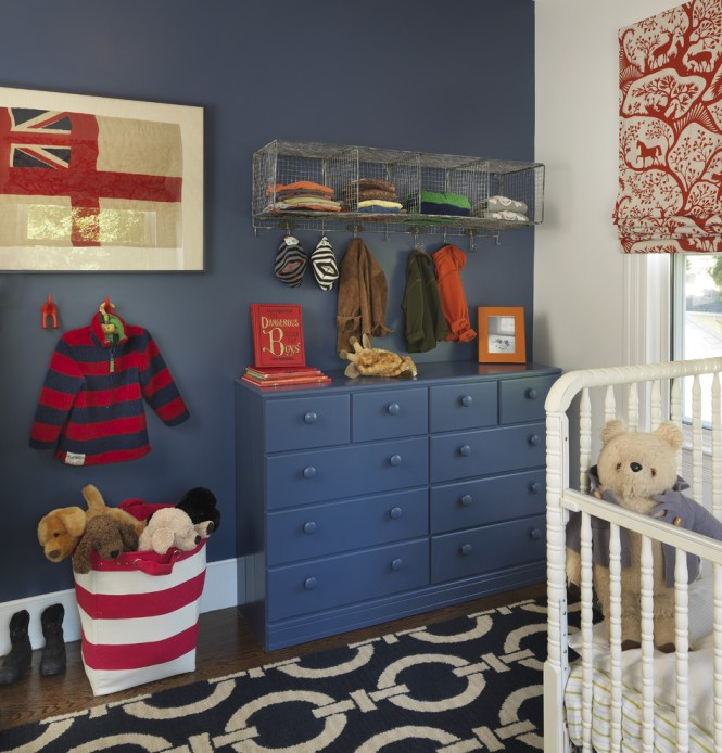Deep Blue Is One Of Those Colors Would Work Good As For A Age Room