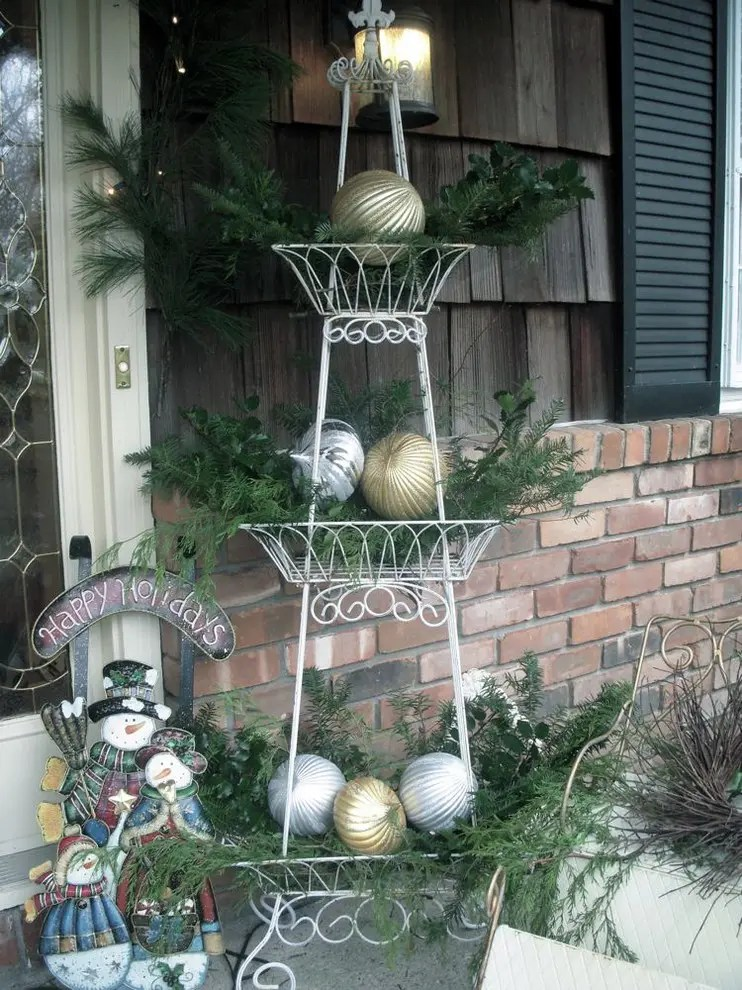 95 Amazing Outdoor Christmas Decorations - DigsDigs on Patio Decorating Ideas With Lights  id=95804