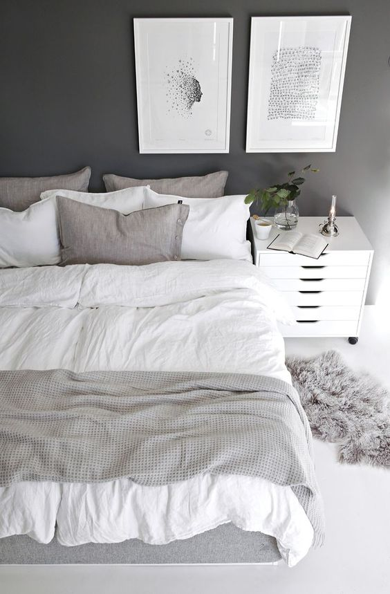 it's bold, stimulating, and, yes, lucky, according to the ancient practice of feng shui, making red an auspicious way to decorate your bedroom. 74 Cozy And Comfy Scandinavian Bedroom Designs - DigsDigs