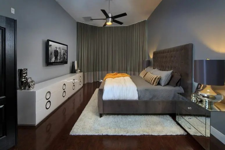 70 Stylish and Sexy Masculine Bedroom Design Ideas - DigsDigs on Guys Small Bedroom Ideas  id=52927