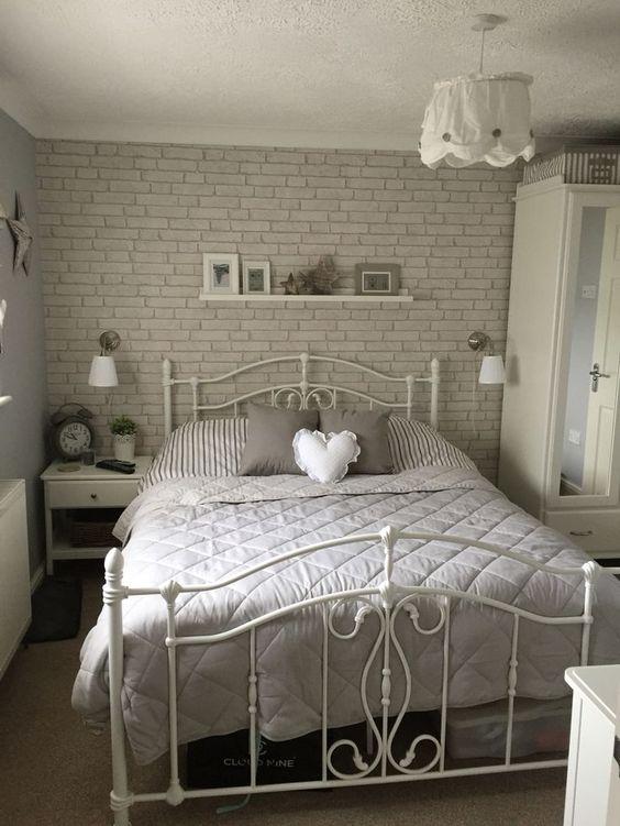 75 Impressive Bedrooms With Brick Walls Digsdigs