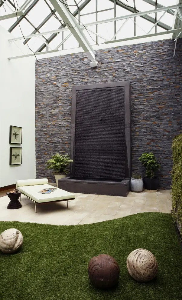 49 Amazing Outdoor Water Walls For Your Backyard - DigsDigs on Backyard Feature Walls  id=45222