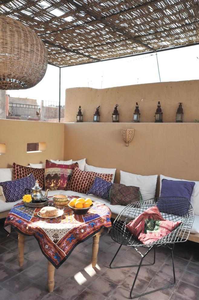 75 Charming Morocco-Style Patio Designs - DigsDigs on Moroccan Backyard Design id=72406