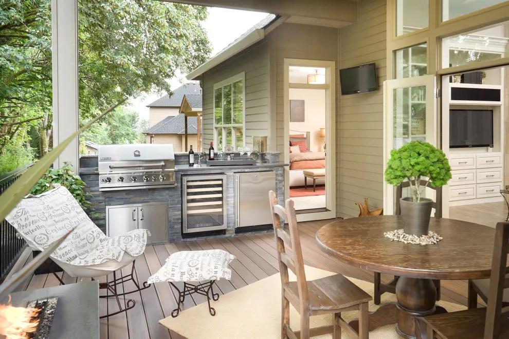 Small Outdoor Kitchen Designs