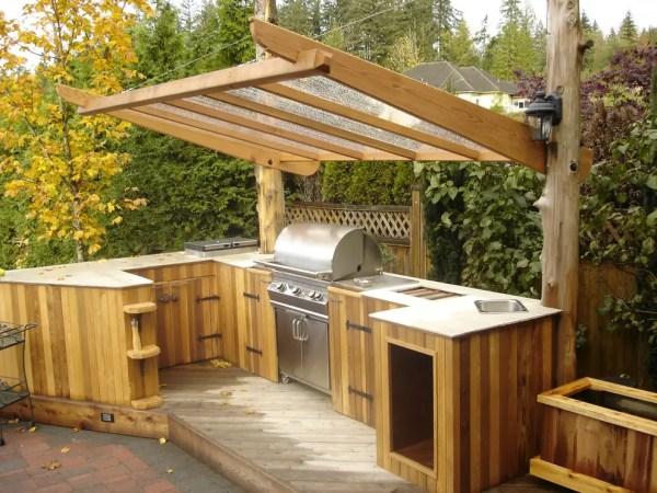 outdoor patio kitchen design idea 95 Cool Outdoor Kitchen Designs - DigsDigs