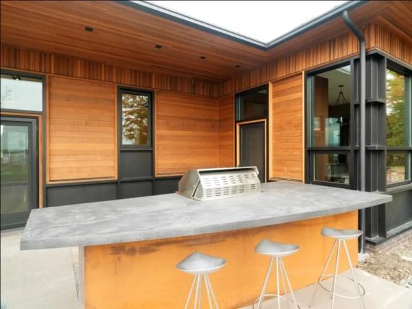 outdoor patio kitchen design 95 Cool Outdoor Kitchen Designs - DigsDigs