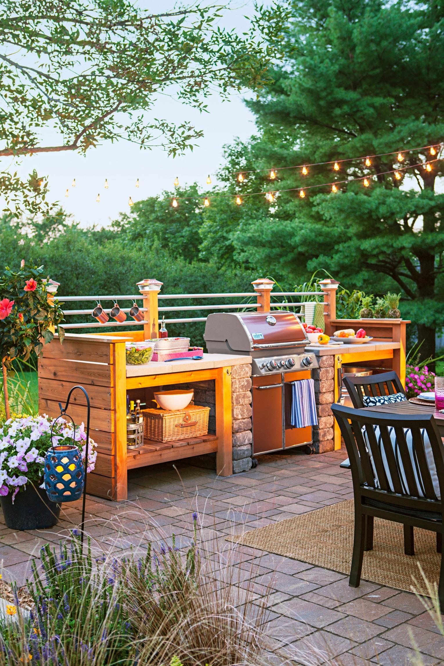 95 Cool Outdoor Kitchen Designs - DigsDigs on Yard Kitchen Design id=51886