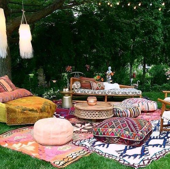 75 Charming Morocco-Style Patio Designs - DigsDigs on Moroccan Backyard Design  id=43442