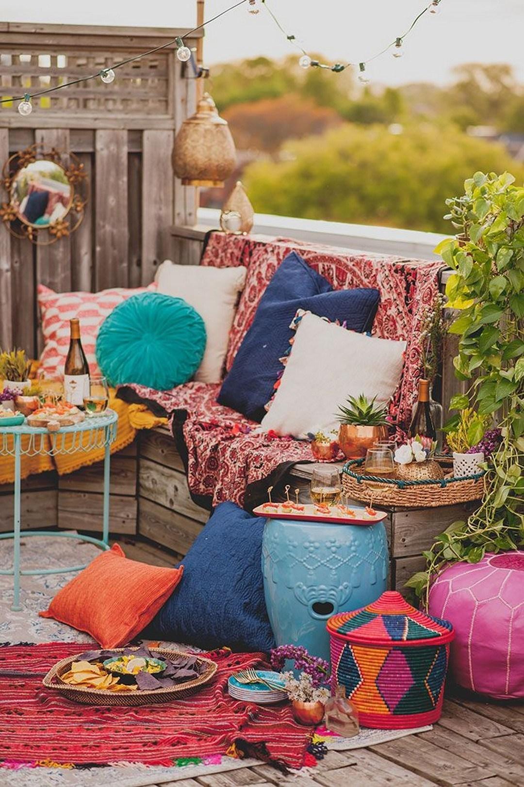 75 Charming Morocco-Style Patio Designs - DigsDigs on Moroccan Backyard Design  id=49342