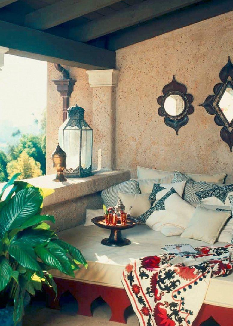 75 Charming Morocco-Style Patio Designs - DigsDigs on Moroccan Backyard Design id=28058