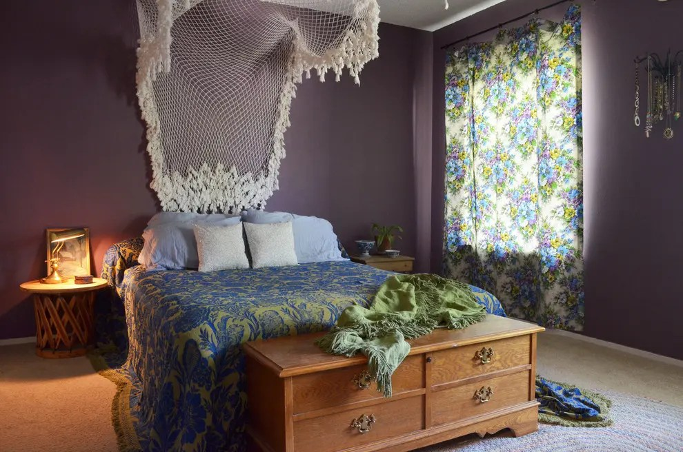 65 Refined Boho Chic Bedroom Designs - DigsDigs on Boho Bedroom  id=35705
