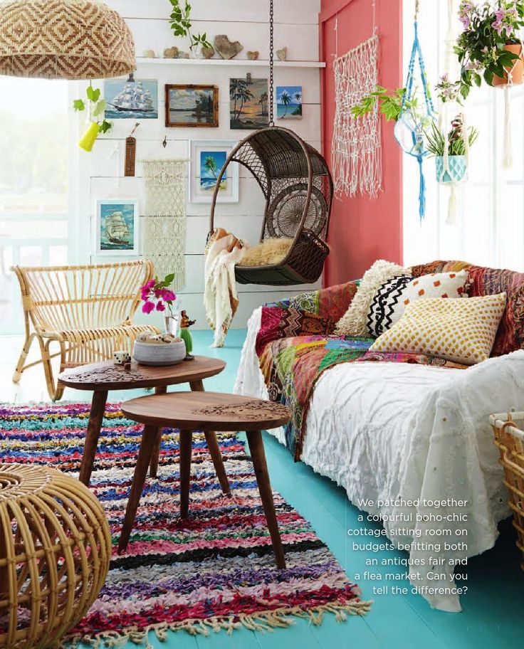 85 Inspiring Bohemian Living Room Designs - DigsDigs on Boho Room Decor  id=23409