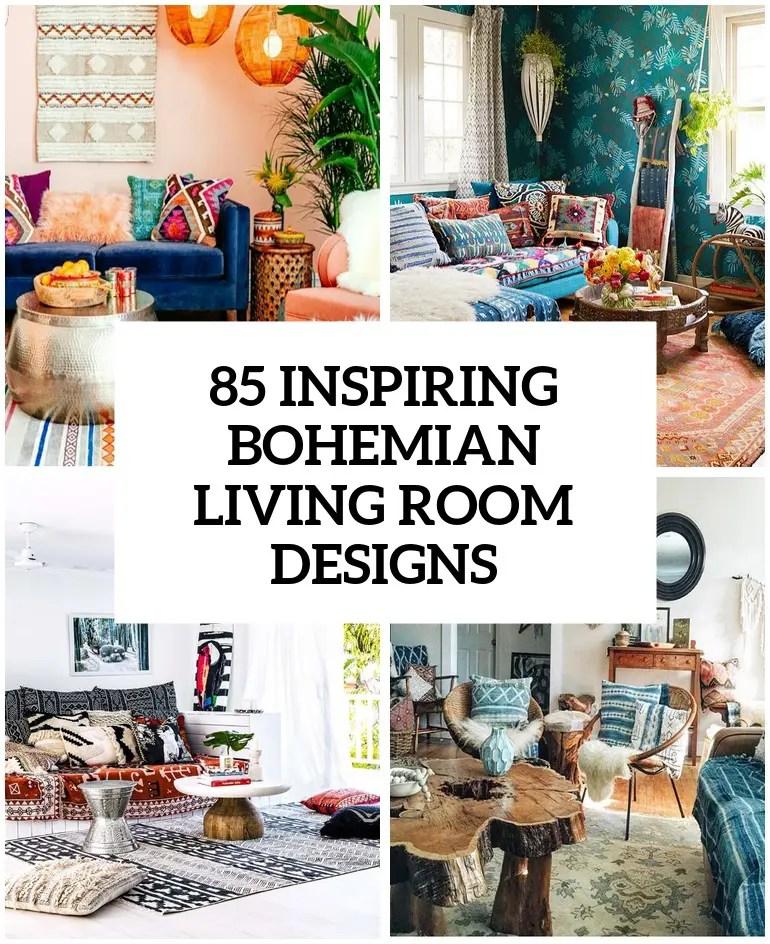 85 Inspiring Bohemian Living Room Designs - DigsDigs on Bohemian Living Room Decor Ideas  id=87810