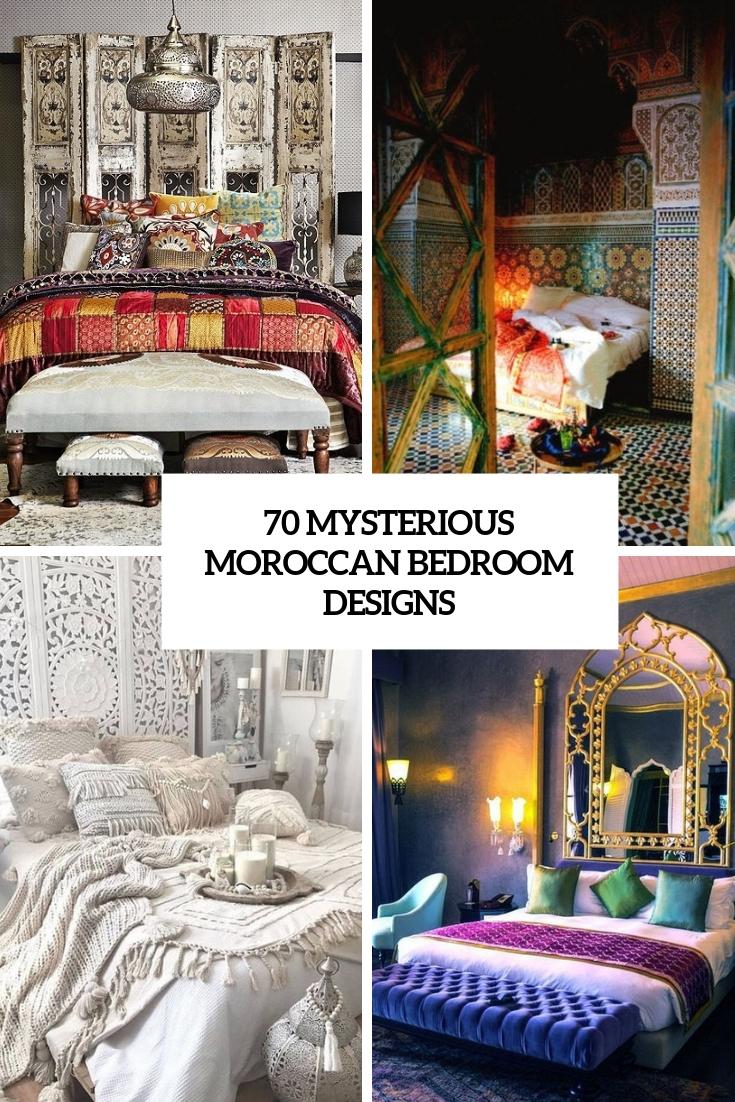70 Mysterious Moroccan Bedroom Designs Digsdigs