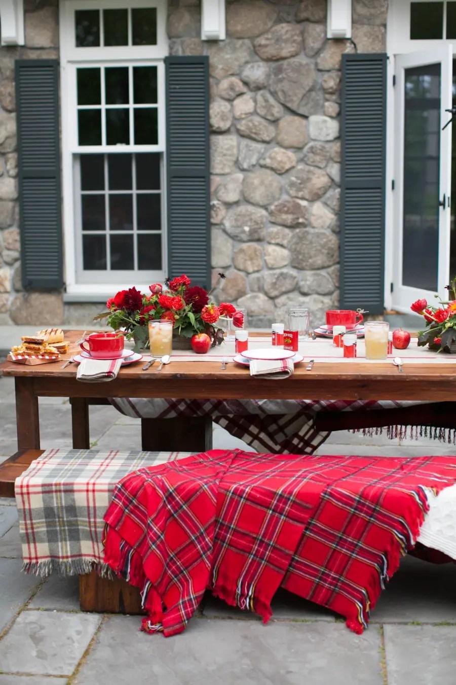 55 Cozy Fall Patio Decorating Ideas - DigsDigs on Backyard Deck Decor  id=83576