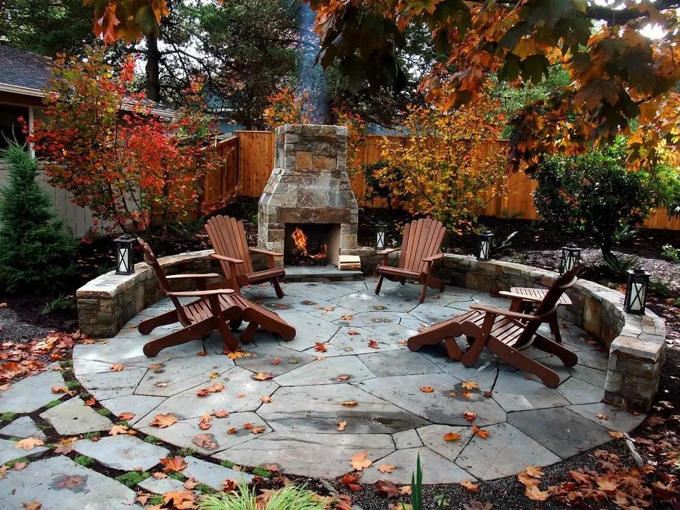 55 Cozy Fall Patio Decorating Ideas - DigsDigs on Backyard Deck Decor  id=11807