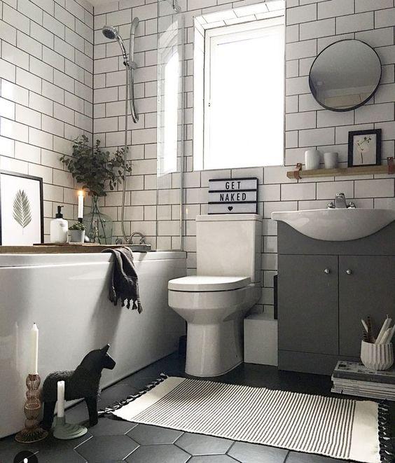 54 Cool And Stylish Small Bathroom Design Ideas - DigsDigs on Monochromatic Bathroom Ideas  id=64244