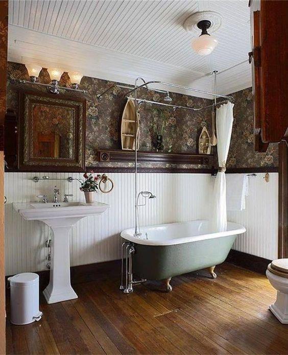 relaxing farmhouse bathroom designs