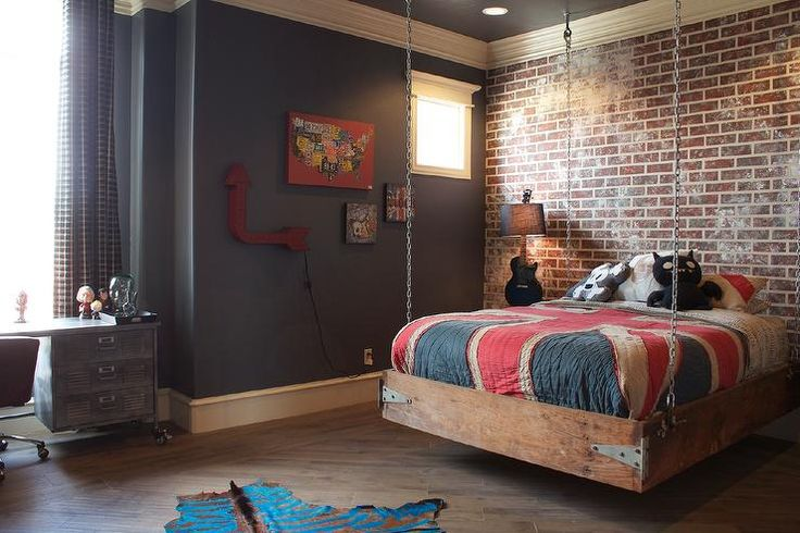 55 Modern And Stylish Teen Boys' Room Designs - DigsDigs on Cool Rooms For Teenage Guys  id=56947