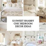 53 Sweet Shabby Chic Bedroom Decor Ideas Digsdigs