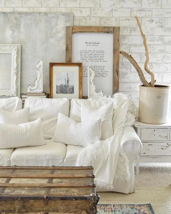 44 enchanted shabby chic living room