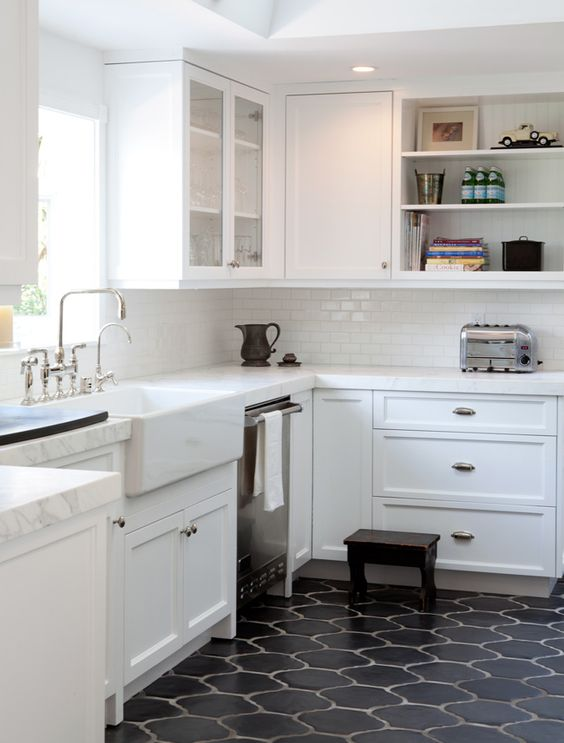 43 Practical And Cool Looking Kitchen Flooring Ideas Digsdigs