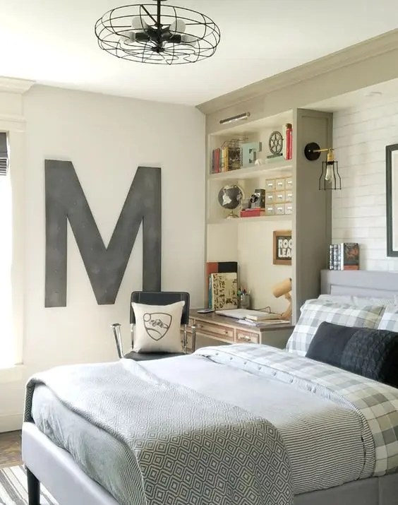 35 Ideas To Organize And Decorate A Teen Boy Bedroom ... on Cool Bedroom Ideas For Teenage Guys With Small Rooms  id=86971