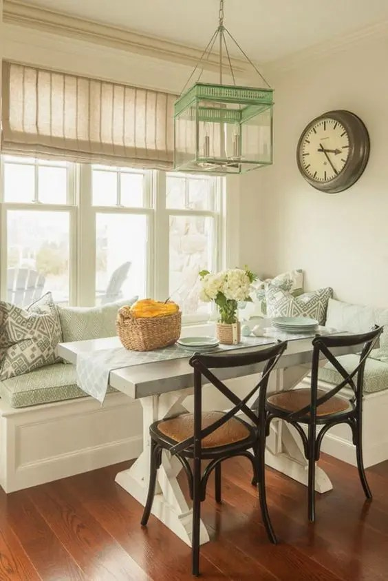 29 Breakfast Corner Nook Design Ideas - DigsDigs on Nook's Cranny Design Ideas  id=19001