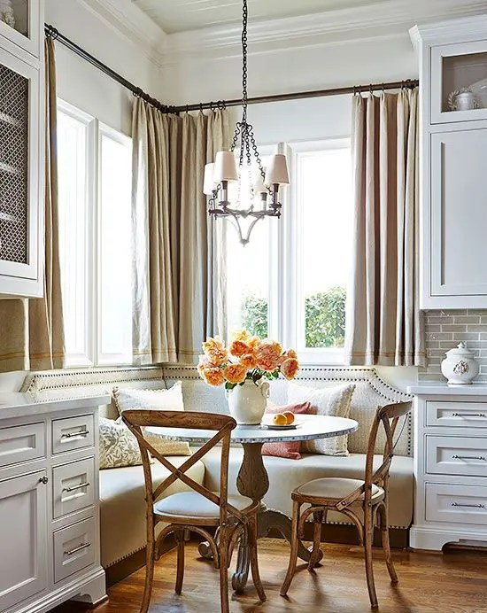 29 Breakfast Corner Nook Design Ideas - DigsDigs on Nook's Cranny Design Ideas  id=48649
