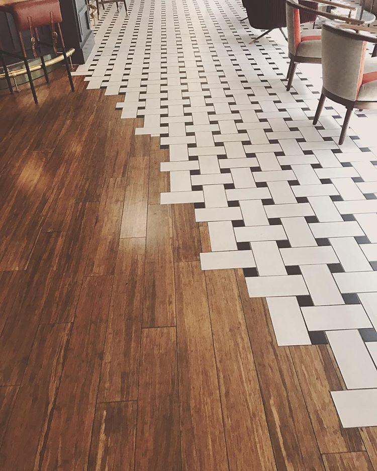 joining laminate flooring to ceramic