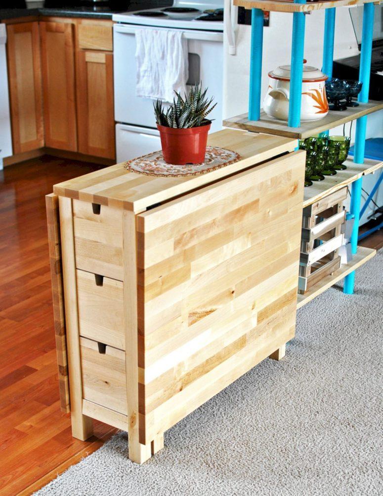 33 Ways To Use Ikea Norden Gateleg Table In Decor Digsdigs