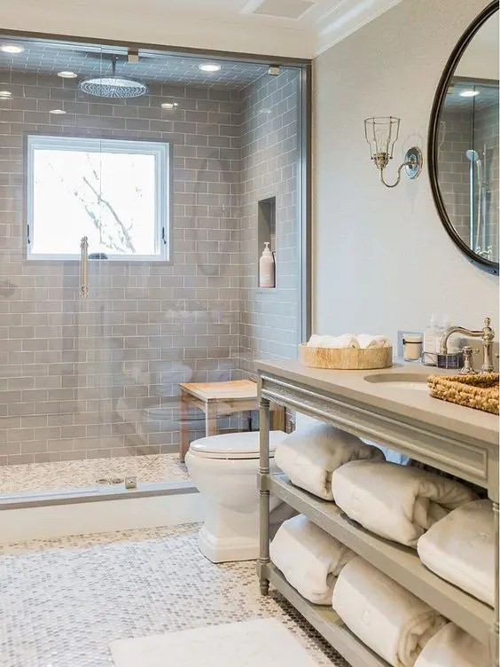 33 Chic Subway Tiles Ideas For Bathrooms - DigsDigs on Bathroom Ideas Subway Tile  id=22644