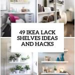 49 Ikea Lack Shelves Ideas And Hacks Digsdigs