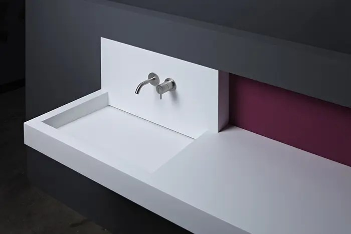 Modern Minimalist Sinks Of Corian And Steel DigsDigs