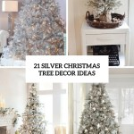 21 Silver Christmas Tree Decor Ideas Digsdigs