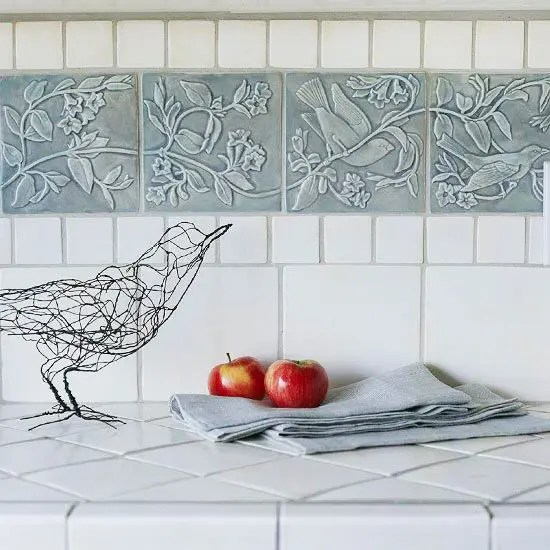 Ceramic Tile Patterns Kitchen Backsplash