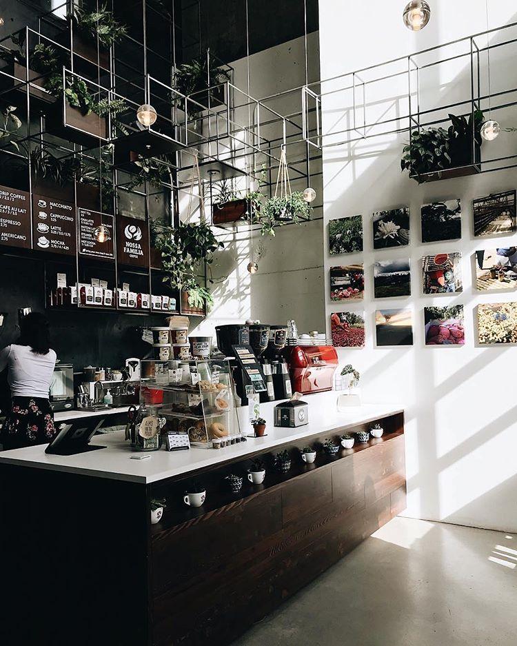 50 Cool Coffee Shop Interior Decor Ideas - DigsDigs