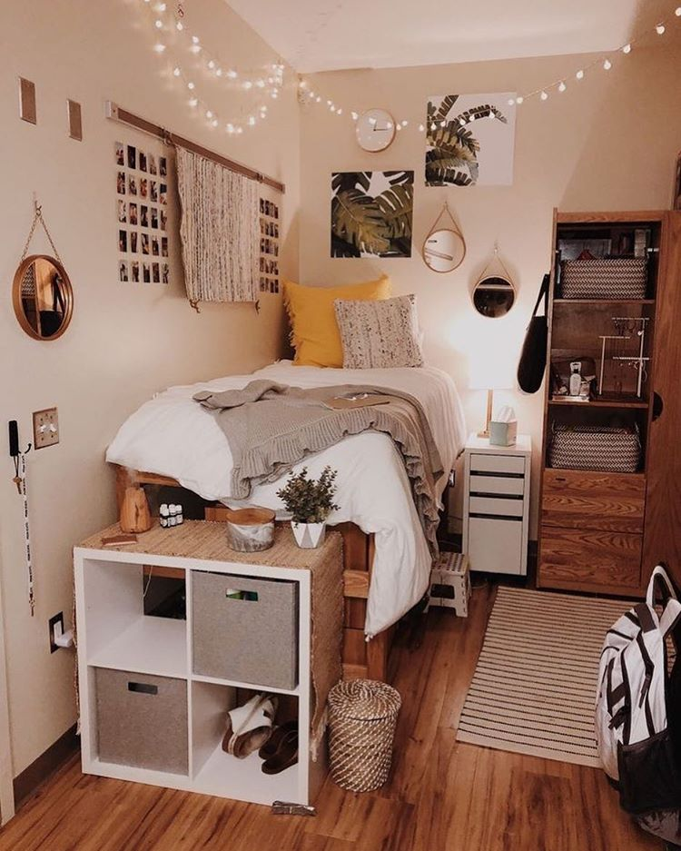 45 Cool Dorm Room Décor Ideas You'll Like - DigsDigs on Room Decorations  id=64976