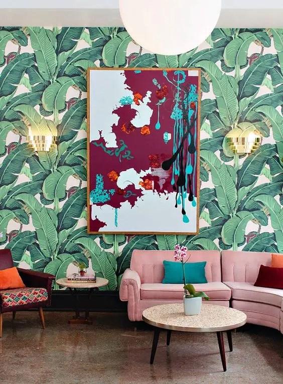 Watercolor Wallpaper Home