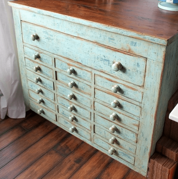 vintage dressers in your interior