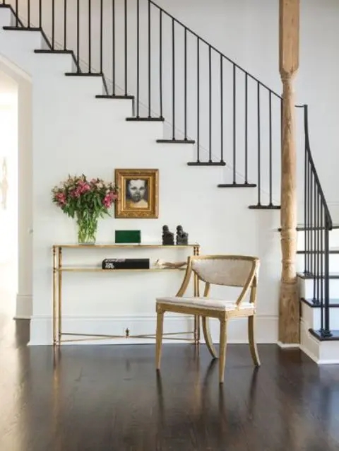 33 Wrought Iron Railing Ideas For Indoors And Outdoors | Iron Handrails For Stairs Interior | Wall Mounted | Balcony | Dark Brown | Room Divider | Custom
