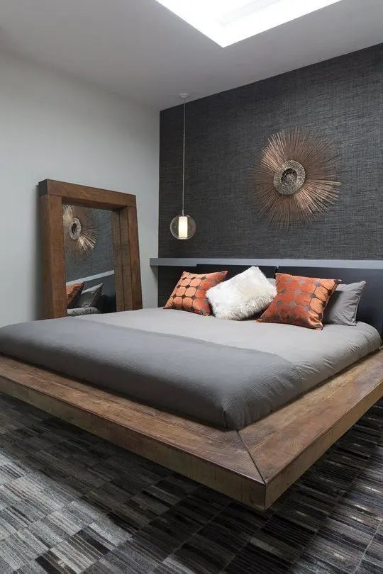 If you are looking for inexpensive bedroom decorating ideas, check out these great pieces for under $100. 35 Masculine Bedroom Furniture Ideas That Inspire - DigsDigs