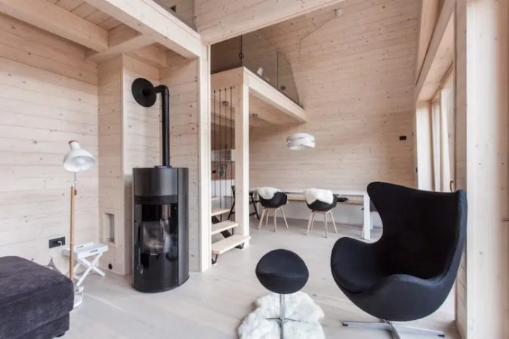 The Interior Of House Is Warm And Welcoming Thanks To Extensive Use Light