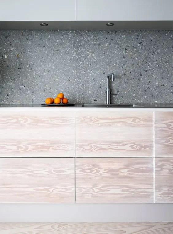 Hot Trend: 36 Terrazzo Design And Decor Ideas DigsDigs - Light Colored Kitchen Cabinets
